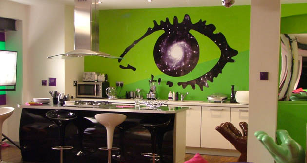 The Big Brother kitchen