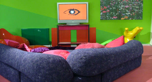 Inside the Big Brother house